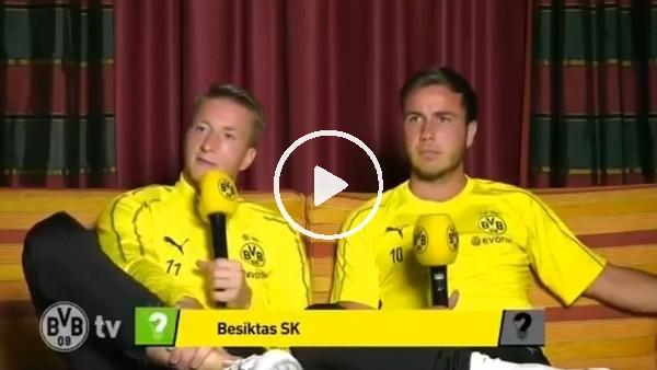 Marco Reus'dan Beşiktaş cevabı!