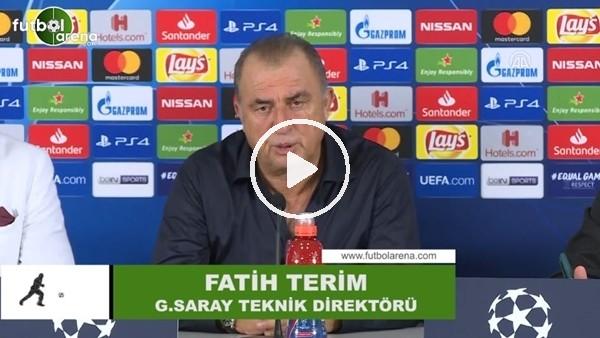 """Fatih Terim: """"Şampiyon, Şampiyonlar Ligi'ne çok yakıştı"""""""