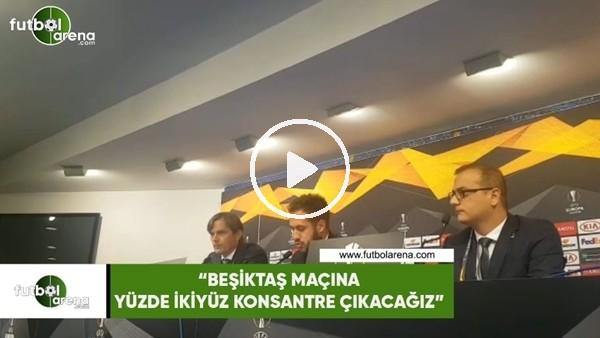 """'Phillip Cocu: """"Beşiktaş maçına yüzde ikiyüz konsantre çıkacağız"""""""