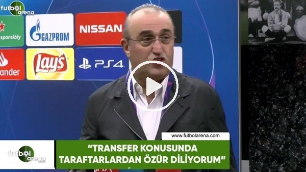 """'Abdurrahim Albayrak: """"Transfer konusunda taraftarlardan özür diliyorum"""""""