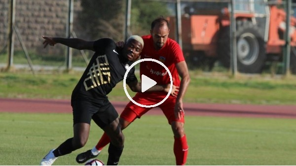'Kayserispor, Osmanlıspor ile hazırlık maçı yaptı