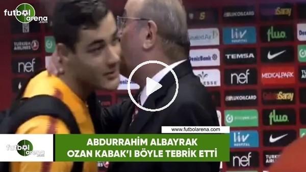 Abdurrahim Albayrak, Ozan Kabak'ı böyle tebrik etti