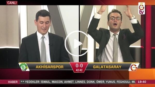 'Rodrigues'in kaçırdığı penaltıda GS TV!
