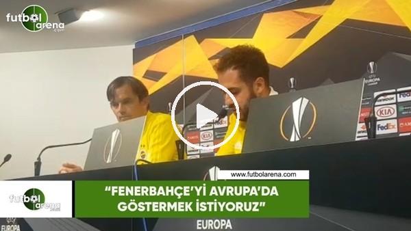 """'Phillip Cocu: """"Fenerbahçe'yi Avrupa'da göstermek istiyoruz"""""""