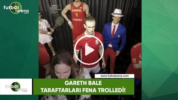 'Gareth Bale taraftarları fena trolledi!