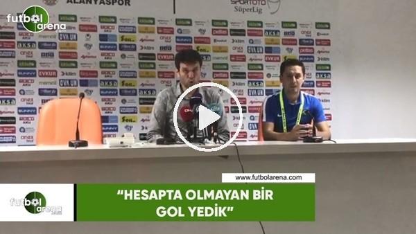 """'Cihat Arslan: """"Hesapta olmayan bir gol yedik"""""""