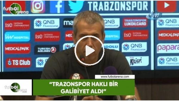 """'Kemal Özdeş: """"Trabzonspor haklı bir galibiyet aldı"""""""