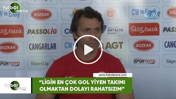 """'Bülent Korkmaz: """"Ligin en çok gol yiyen takımı olmaktan dolayı rahatsızım"""""""