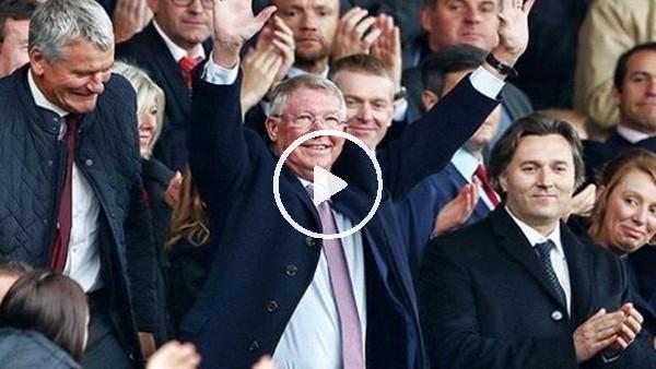 Alex Ferguson yeniden Old Trafford'da!