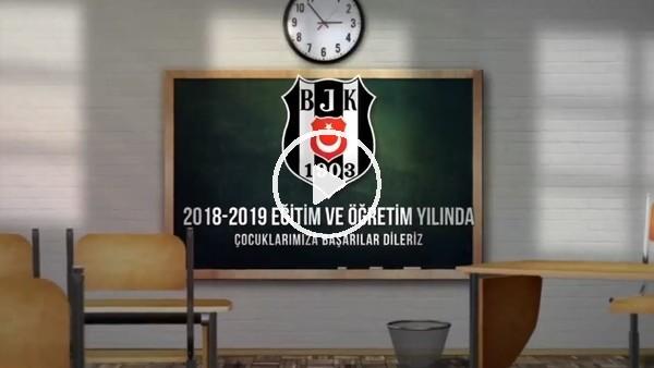 Beşiktaş'ın yeni eğitim ve öğretim yılı için hazırladığı video!