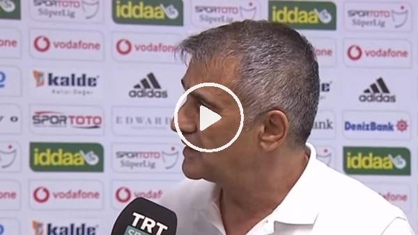 """'Şenol Güneş: """"Türk futbolunun tek sorunu yabancı değil"""""""