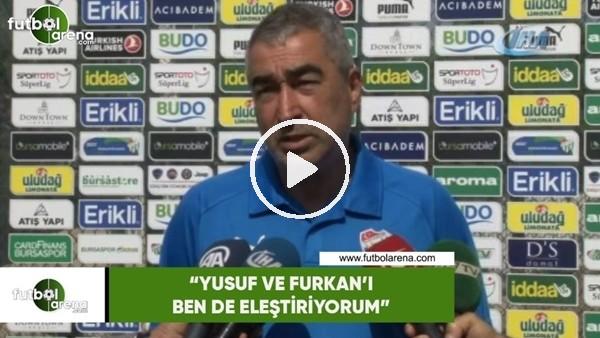 """'Samet Aybaba: """"Yusuf ve Furkan'ı ben de eleştiriyorum"""""""