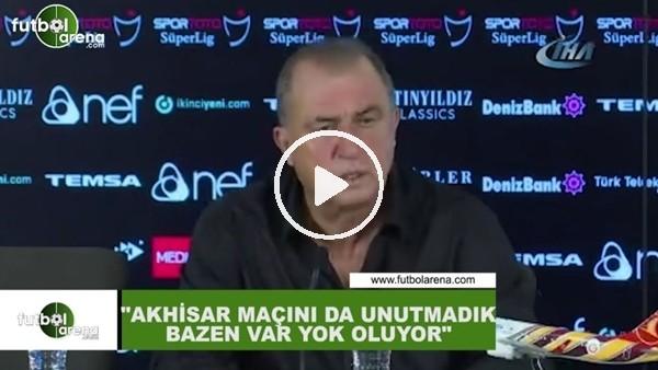 """'Fatih Terim: """"Akhisarspor maçını da unutmadık bazen VAR yok oluyor"""""""