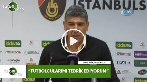 """'Sait Karafırtınalar: """"Futbolcularımı tebrik ediyorum"""""""