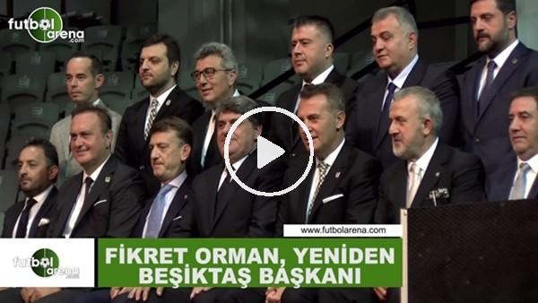 'Fikret Orman, yeni yönetim kurulu üyeleriyle poz verdi
