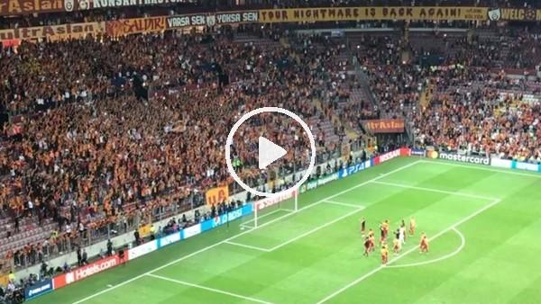 'Galatasaraylı futbolcuların maç sonu sevinci