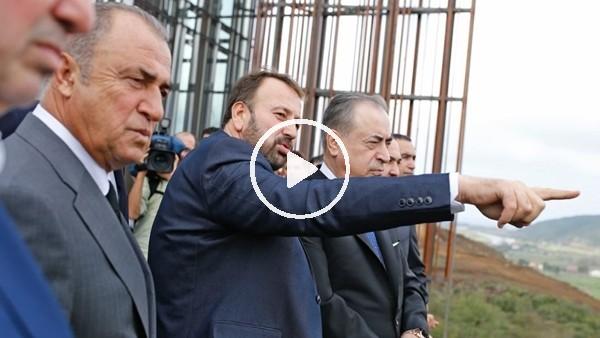 'Galatasaray'da Riva arazisine yapılacak proje tanıtıldı