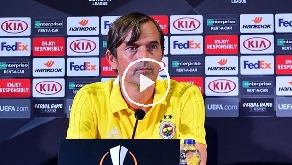 Phillip Cocu, Spartak Trnava maçı öncesi basın toplantısı düzenledi