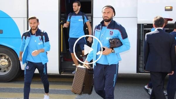 'Trabzonspor, İzmir'e gitti