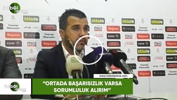 """'Mustafa Alper Avcı: """"Ortada başarısızlık varsa sorumluluk alırım"""""""
