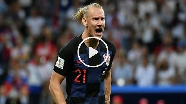 'Domagoj Vida'nın Ürdün'e attığı gol