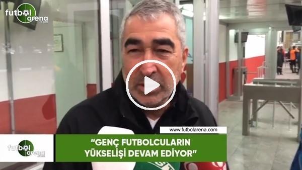 """'Samet Aybaba: """"Genç futbolcuların yükselişi devam ediyor"""""""