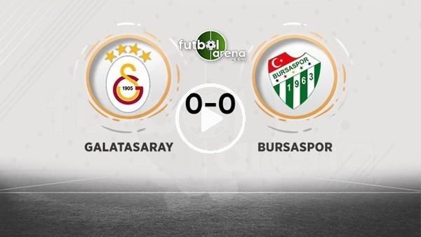 'FutbolArena TV'de Galatasaray - Bursaspor devre arası yorumları