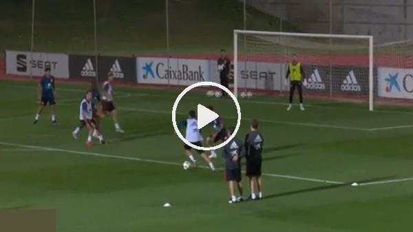 'Marco Asensio antrenmanda şov yaptı
