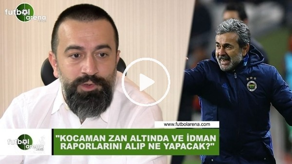 """'Murat Aşık: """"Aykut Kocaman zan altında ve idman raporlarını alıp ne yapacak?"""""""