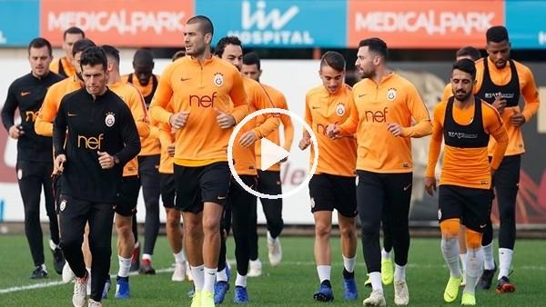 'Galatasaray, Schalke maçı öncesi son idmanını yaptı