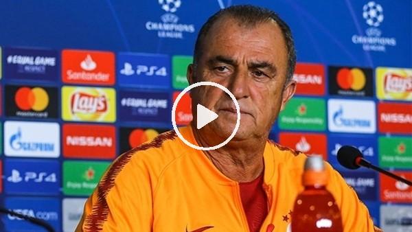'Fatih Terim, Schalke maçı öncesi basın toplantısı düzenledi