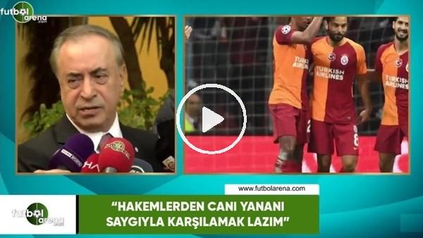 """'Mustafa Cengiz: """"Hakemlerden canı yananı saygıyla karşılamak lazım"""""""