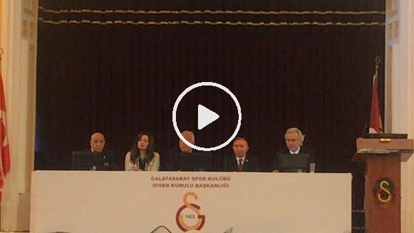 'Galatasaray Divan Kurulu toplantısı yapıldı