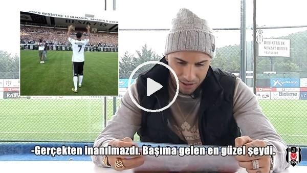 """'Ricardo Quaresma: """"Beşiktaş'a gelmem başıma gelen en güzel şeydi"""""""