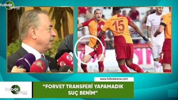 """'Mustafa Cengiz: """"Forvet transferi yapamadık suç benim"""""""