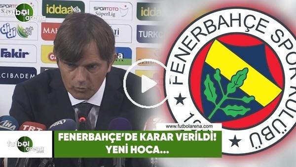 Fenerbahçe'de karar verildi! Yeni hoca....