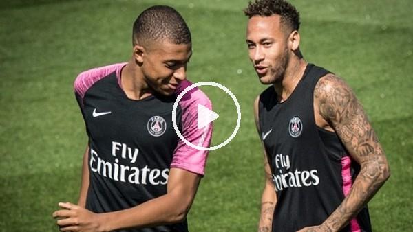 'Neymar'dan Mbappe'ye bacak arası