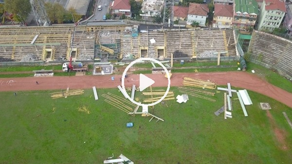 'Eski Sakarya Atatürk Stadında yıkım başladı