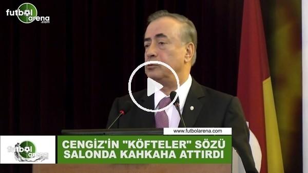 """'Mustafa Cengiz'in """"köfteler"""" sözü salonda kahkaha attırdı"""