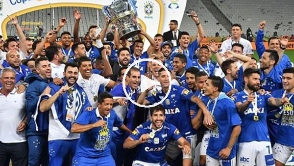 'Brezilya Kupası'nı Cruzeiro kazandı
