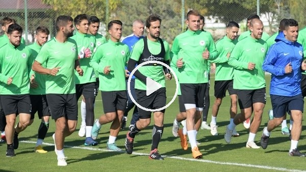 'Konyaspor'da Çaykur Rizespor maçı hazırlıkları