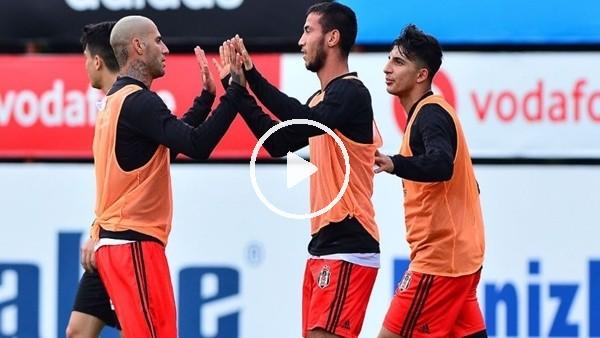 'Beşiktaş hazırlık maçıyla çalışmalarını sürdürdü