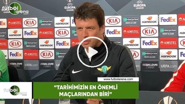 """Cihat Arslan: """"Tarihimizin en önemli maçlarından biri"""""""