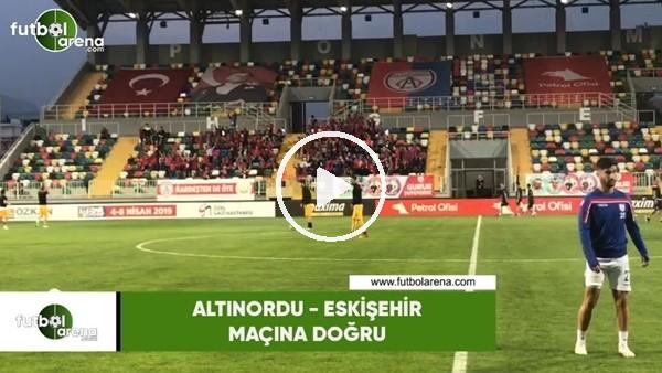 Altınordu çocuk tribünü Eskişehirsporlu futbolcuları alkşladı