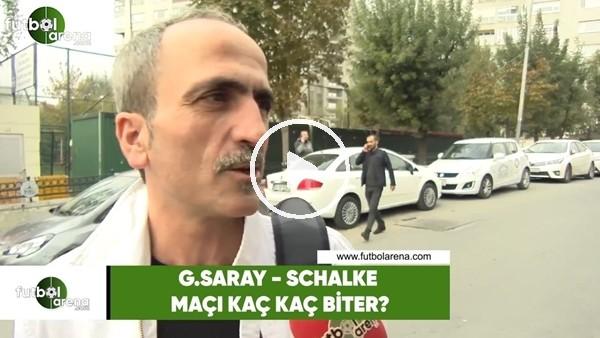 'Galatasaray - Schalke maçı kaç kaç biter?