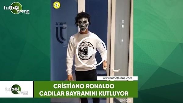 'Cristiano Ronaldo, Cadılar Bayramını kutluyor