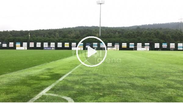 'FutbolArena, Fenerbahçe antrenmanında