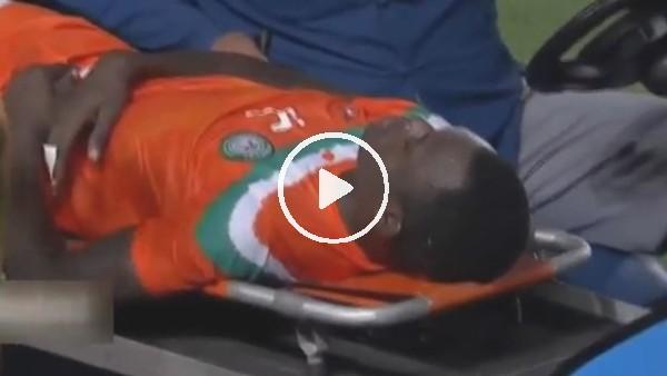 'Nijerli futbolcu ölümden döndü