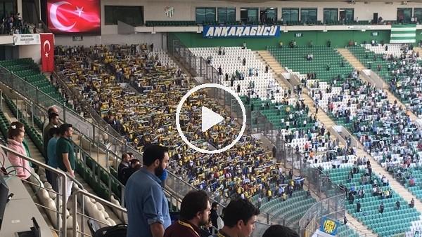 'Bursaspor - Ankaragücü maçında tribünler