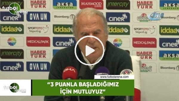 """'Mustafa Denizli: """"3 puanla başladığımız için mutluyuz"""""""